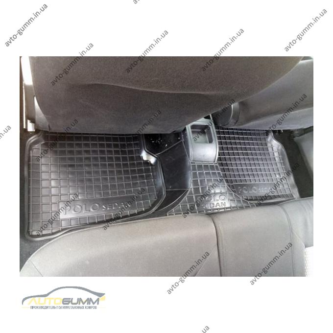Автомобильные коврики в салон Volkswagen Polo Sedan 2010- (Avto-Gumm)