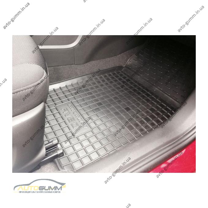 Автомобильные коврики в салон Chevrolet Aveo 2012- (Avto-Gumm)