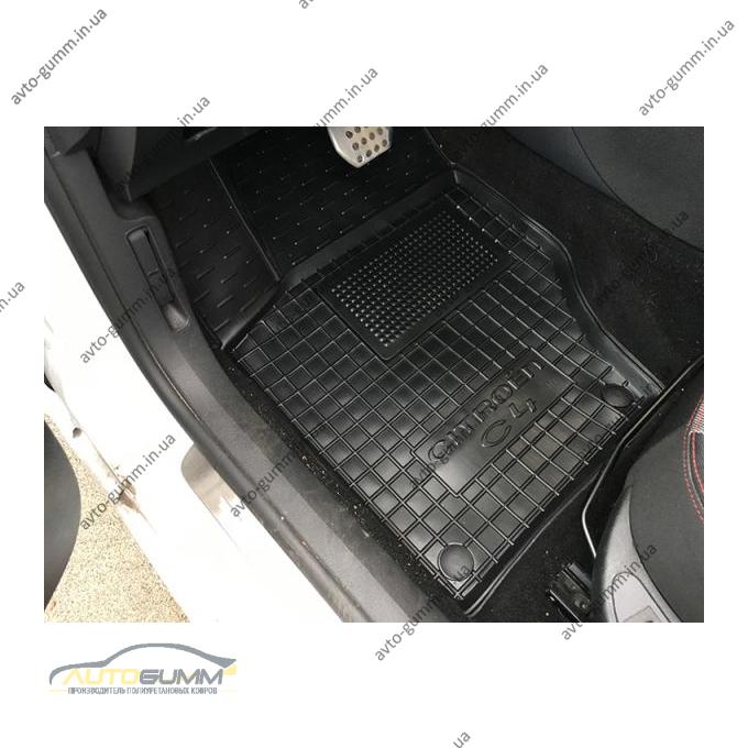 Водительский коврик в салон Citroen C4 2010- (Avto-Gumm)