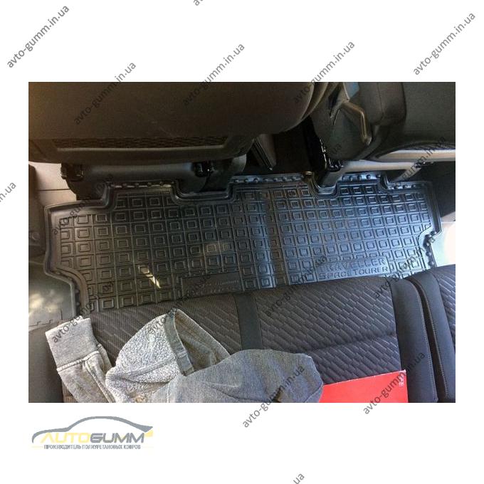 Автомобильные коврики в салон Peugeot Traveller 17-/Citroen SpaceTourer 17- 2-й ряд (Active/Business/L2) (Avto-Gumm)