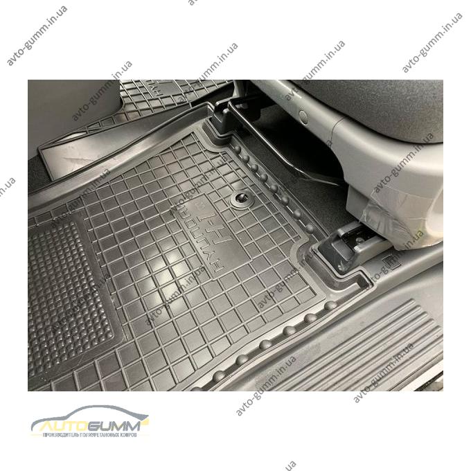 Водительский коврик в салон Hyundai H1 2007- (Avto-Gumm)