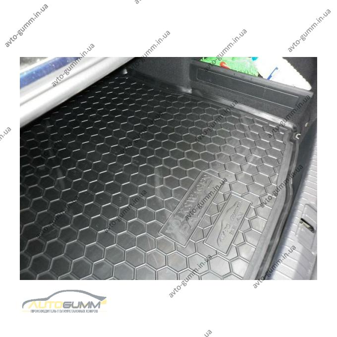 Автомобильный коврик в багажник Volkswagen Passat B8 2015- (Sedan) (Avto-Gumm)