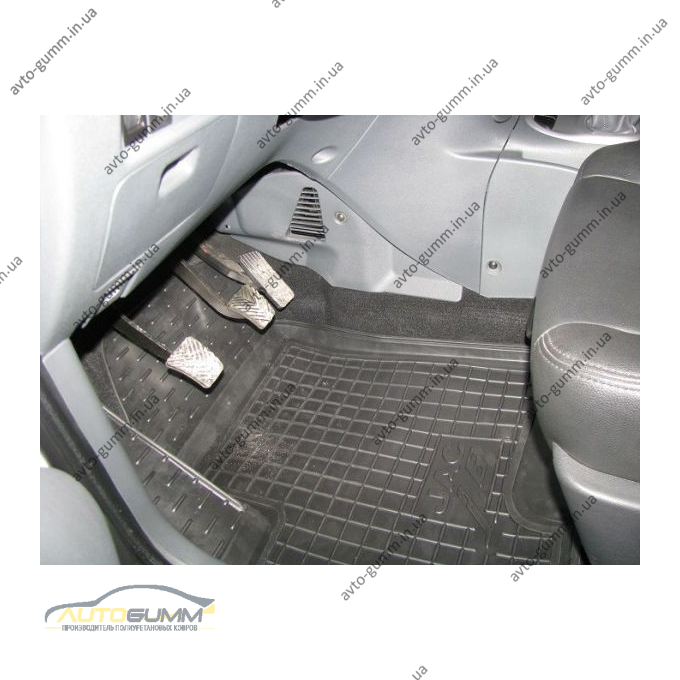 Автомобильные коврики в салон JAC j6 2013- (Avto-Gumm)