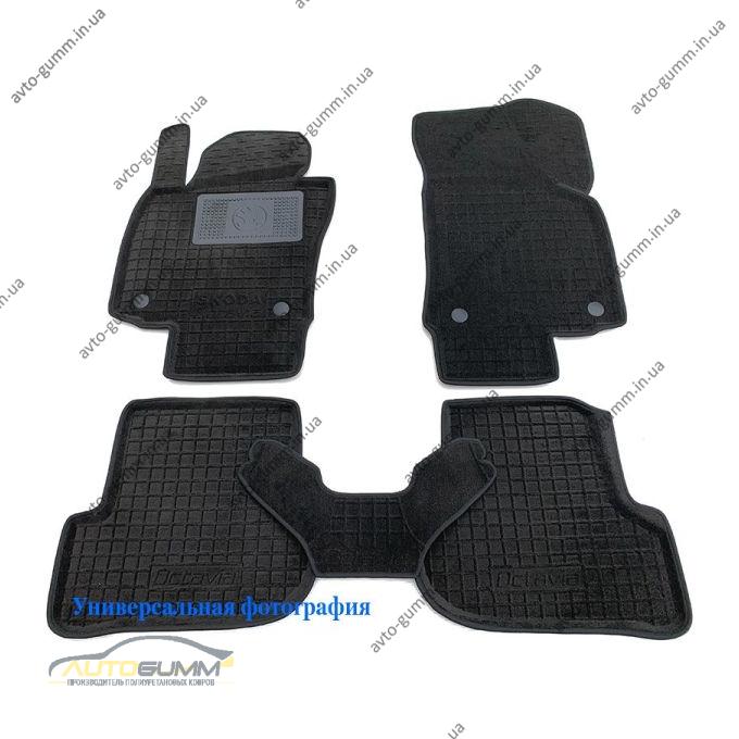 Гибридные коврики в салон Ford Connect 2013- (длинная база) (AVTO-Gumm)