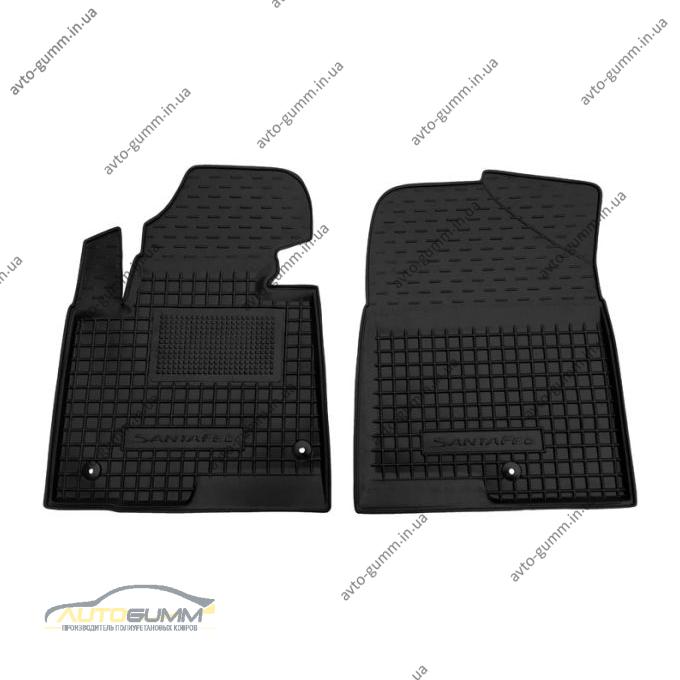 Передні килимки в автомобіль Hyundai Santa Fe 2012- (DM) (Avto-Gumm)
