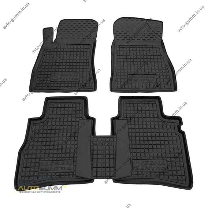 Автомобильные коврики в салон Nissan Sentra 2015- (Avto-Gumm)