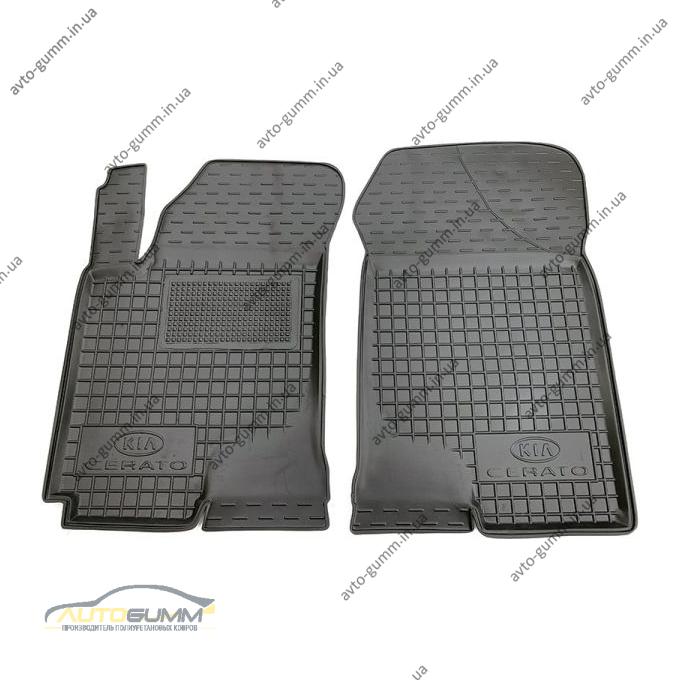 Передние коврики в автомобиль Kia Cerato 2004-2009 (Avto-Gumm)