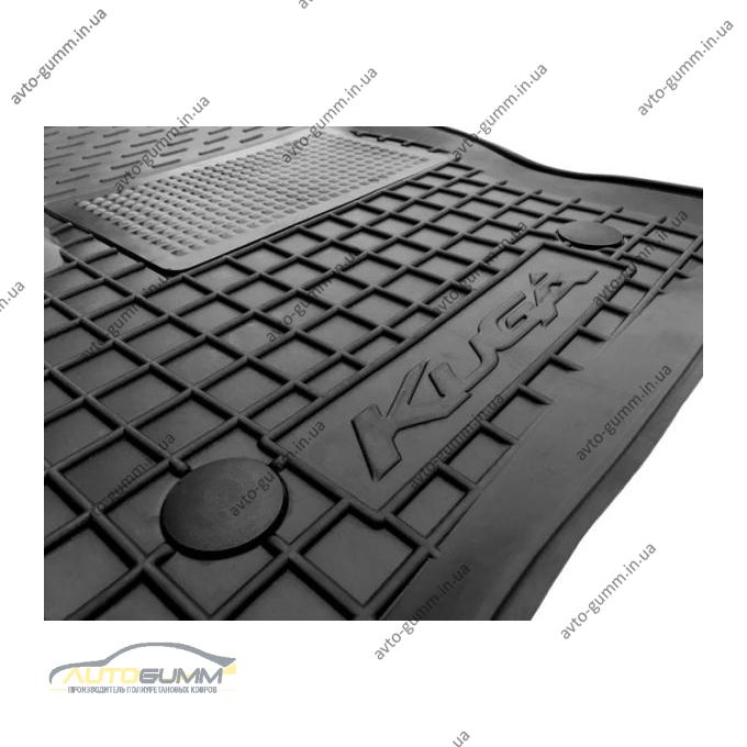 Водійський килимок в салон Ford Kuga 2013- (Avto-Gumm)