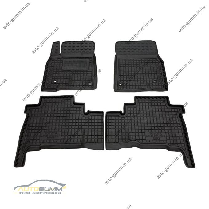 Автомобильные коврики в салон Toyota Land Cruiser 200 2007-2012 (Avto-Gumm)