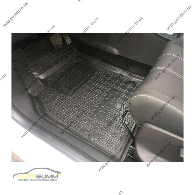Водительский коврик в салон Renault Fluence 09- / Megane 3 09- HB/Un (AVTO-Gumm)