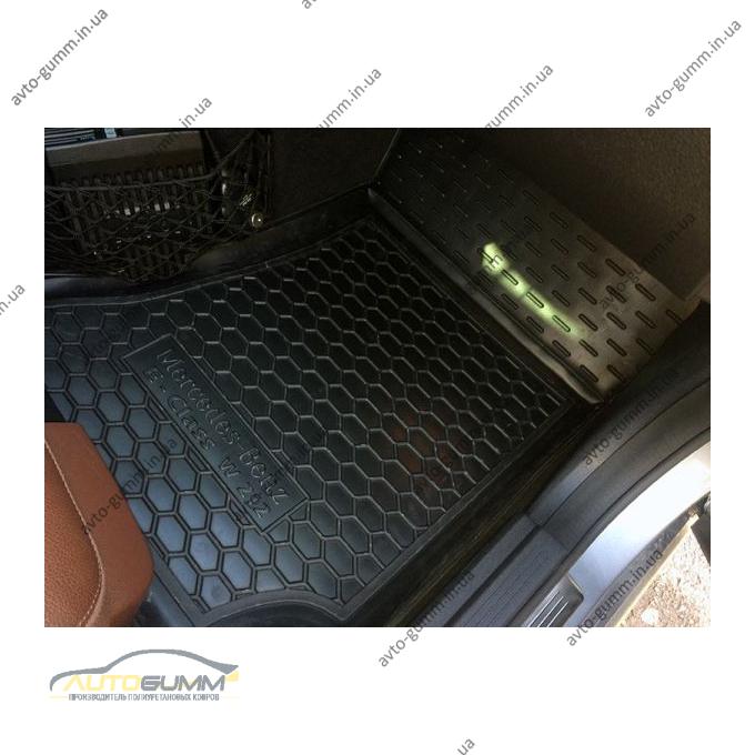 Передние коврики в автомобиль Mercedes E (W212) 2009- (Avto-Gumm)