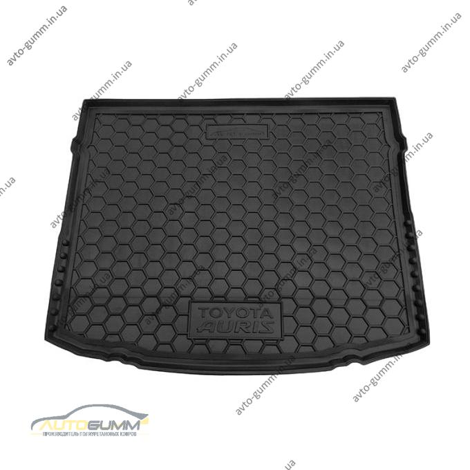 Автомобильный коврик в багажник Toyota Auris 2013- (Avto-Gumm)