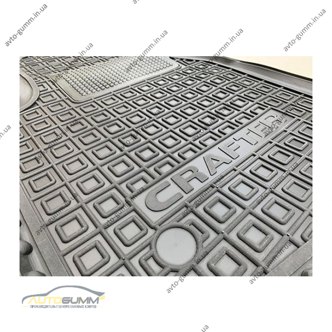 Водійський килимок в салон Volkswagen Crafter 2017- (Avto-Gumm)