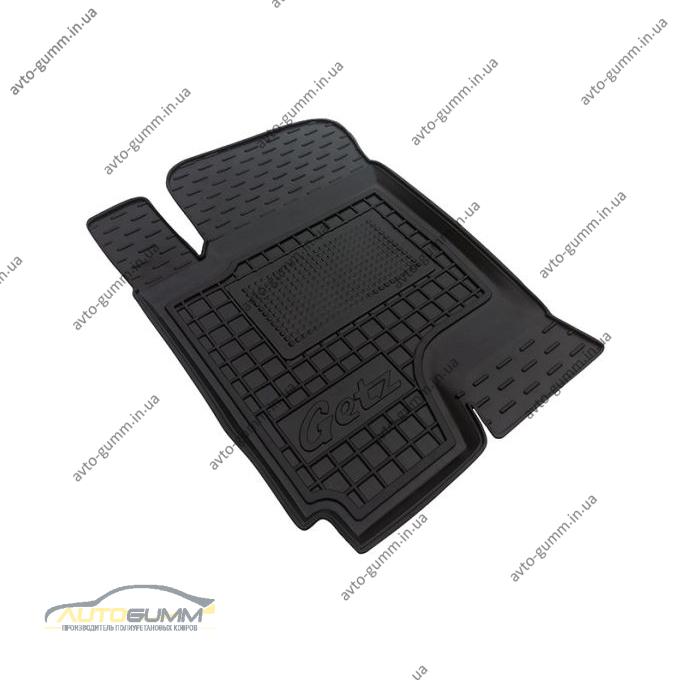Водительский коврик в салон Hyundai Getz 2002-2011 (Avto-Gumm)