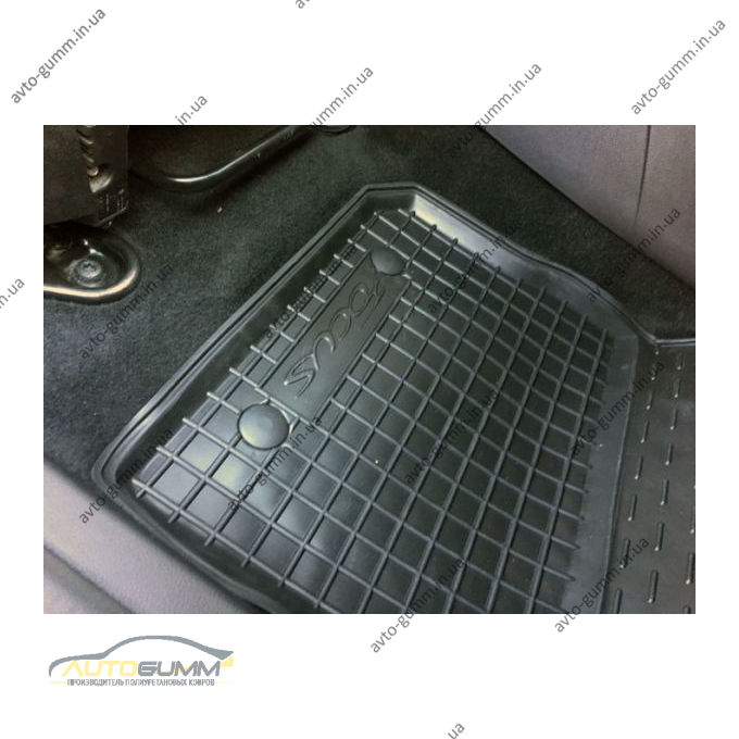 Автомобильные коврики в салон Ford Focus 3 2011- (Avto-Gumm)