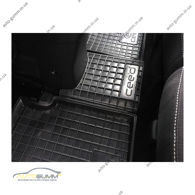 Автомобильные коврики в салон Kia Ceed (JD) 2012- (Avto-Gumm)