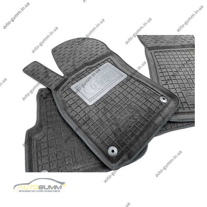 Гибридные коврики в салон Audi A6 (C6) 2005-2011 (Avto-Gumm)