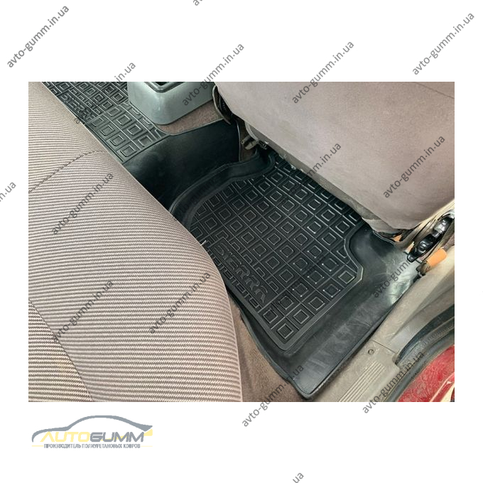 Автомобильные коврики в салон Ford Sierra 1987-1994 (Avto-Gumm)