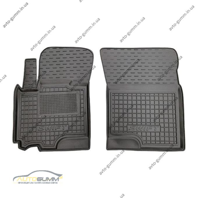 Передние коврики в автомобиль Suzuki Swift 2012- (Avto-Gumm)