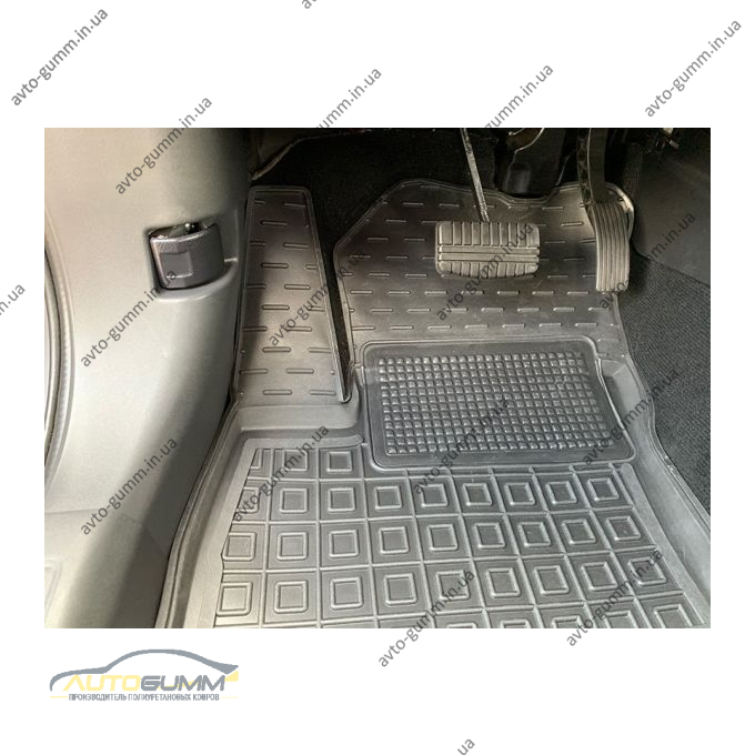Автомобильные коврики в салон Mitsubishi Outlander 2012- PHEV (Avto-Gumm)