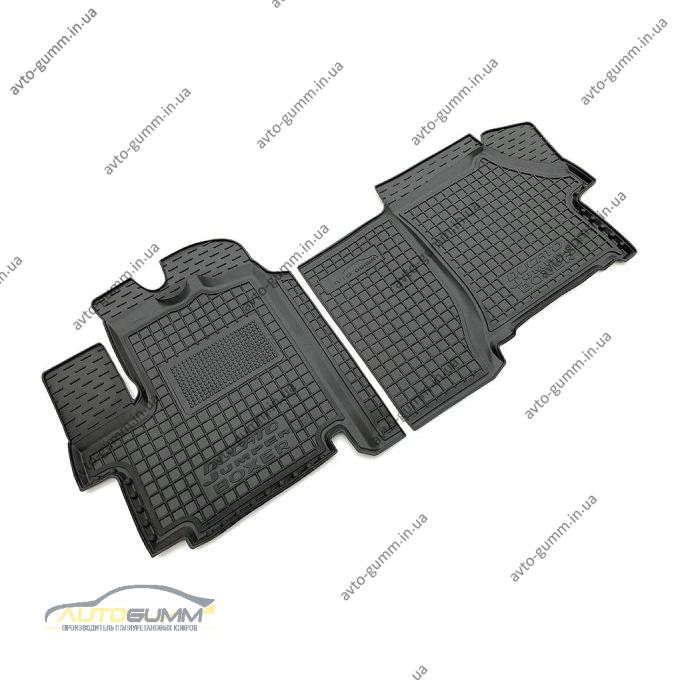 Автомобільні килимки в салон Fiat Ducato 07-/Citroen Jumper 07-/Peugeot Boxer 06- (Avto-Gumm)