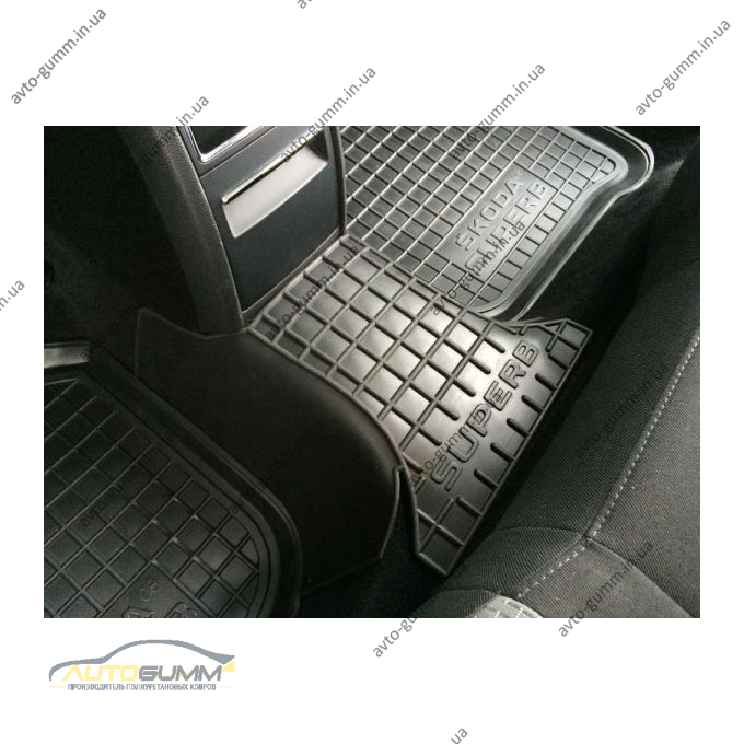 Автомобильные коврики в салон Skoda SuperB 2008-2014 (Avto-Gumm)