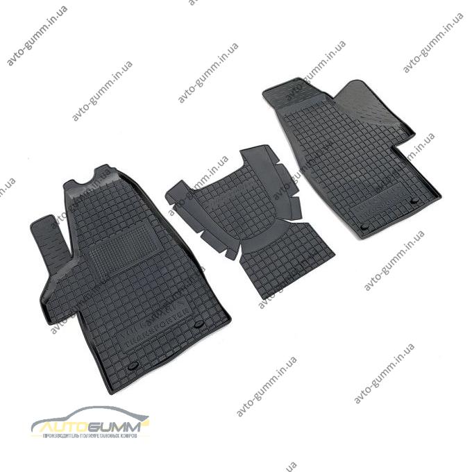 Автомобильные коврики в салон Volkswagen T5 Multivan 2003- (1+1) (Avto-Gumm)