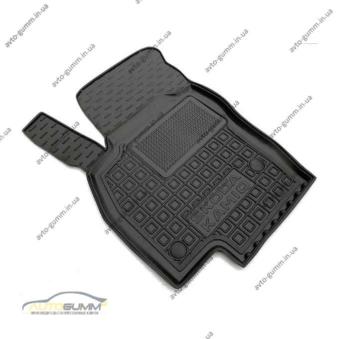 Водительский коврик в салон Skoda Kamiq 2020- (AVTO-Gumm)