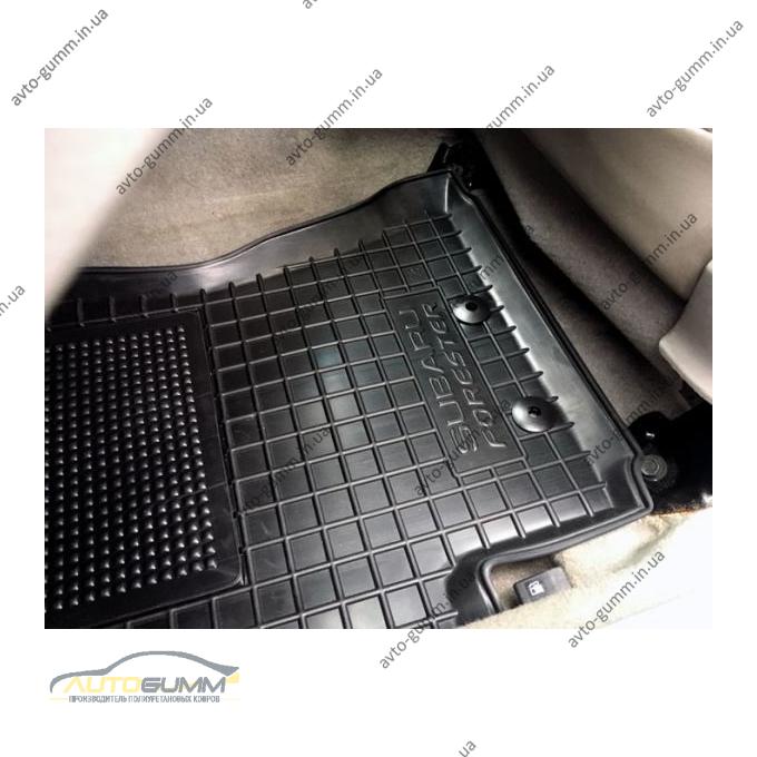 Водительский коврик в салон Subaru Forester 3 2008-2013 (Avto-Gumm)