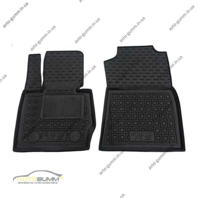 Передні килимки в автомобіль BMW X3 (F25) 2010- (Avto-Gumm)