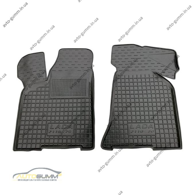 Передние коврики в автомобиль Ваз Lada 2110-12 1996- (Avto-Gumm)