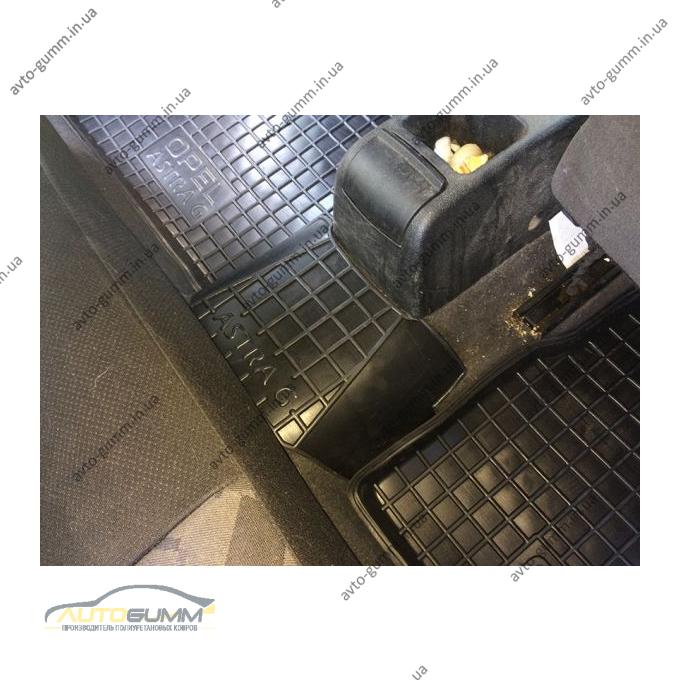 Автомобильные коврики в салон Opel Astra Classic (G) 1998- (Avto-Gumm)