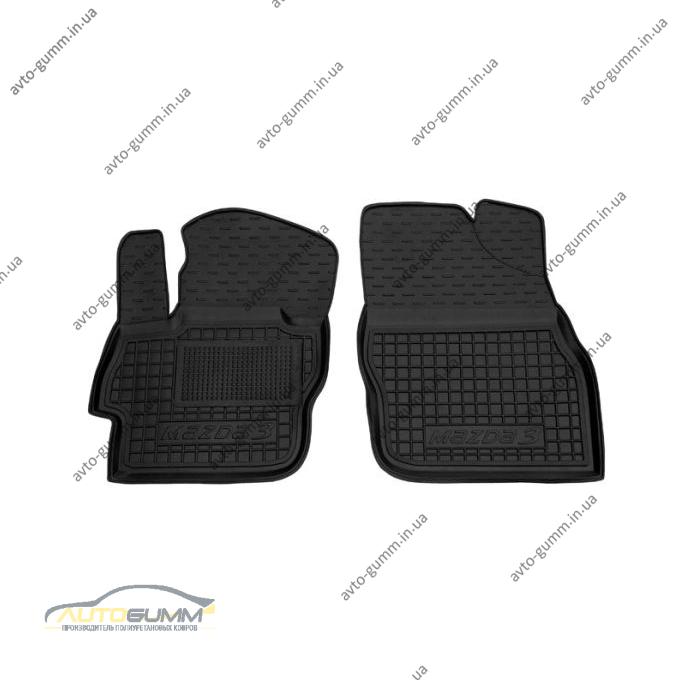 Передние коврики в автомобиль Mazda 3 2009-2013 (Avto-Gumm)