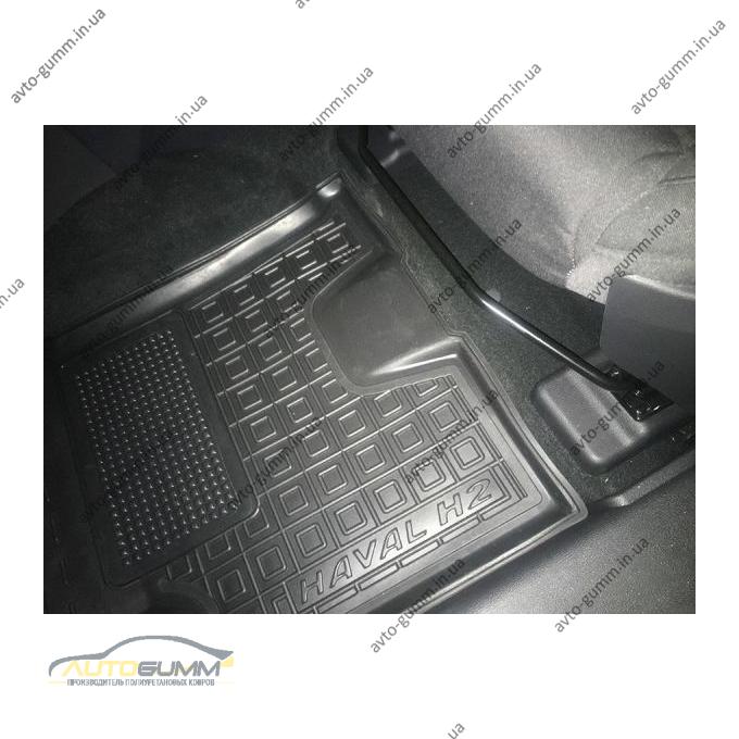 Водительский коврик в салон Haval H2 2014- (Avto-Gumm)