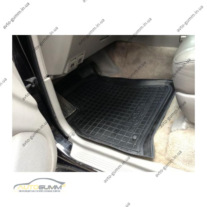 Автомобильные коврики в салон Toyota Land Cruiser 100 1998- (Avto-Gumm)