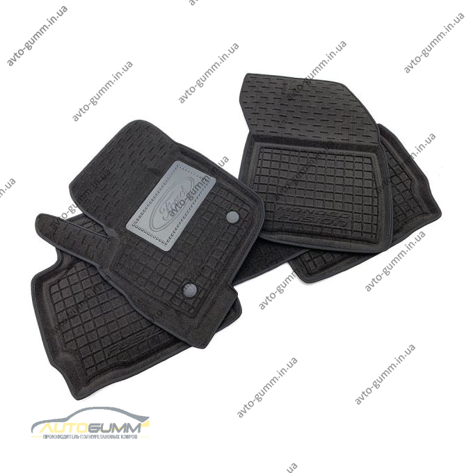 Гибридные коврики в салон Ford Fusion 2013- (AVTO-Gumm)
