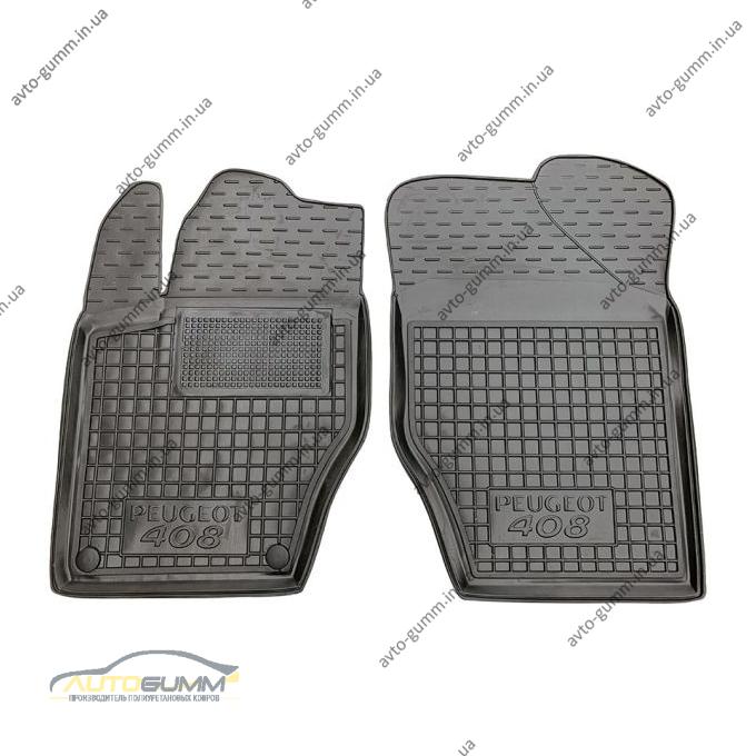Передні килимки в автомобіль Peugeot 408 2012- (Avto-Gumm)