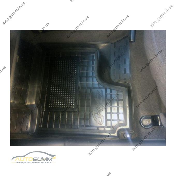 Передние коврики в автомобиль Hyundai Getz 2002-2011 (Avto-Gumm)