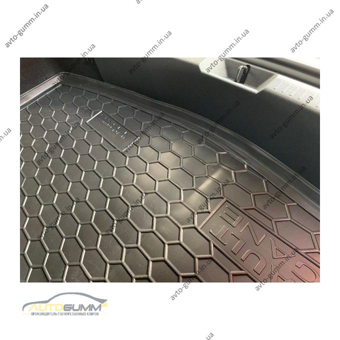 Автомобильный коврик в багажник Renault Megane 4 2016- Sedan (Avto-Gumm)