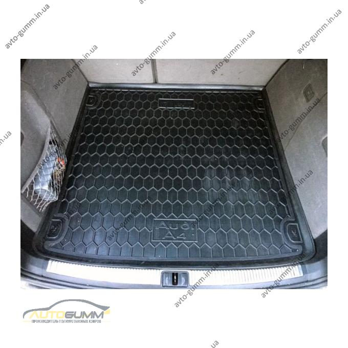 Автомобильный коврик в багажник Audi A4 (B6/B7) 2001- Universal (Avto-Gumm)
