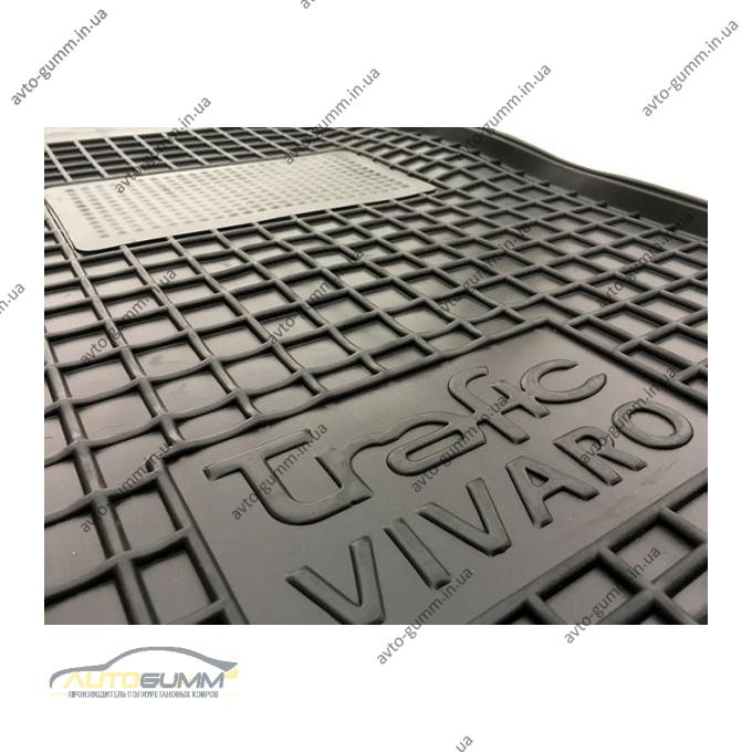 Автомобильные коврики в салон Renault Trafic 2 02-/Opel Vivaro 02- (Avto-Gumm)