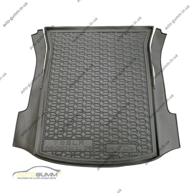 Автомобильный коврик в багажник Tesla Model 3 2017- (Avto-Gumm)