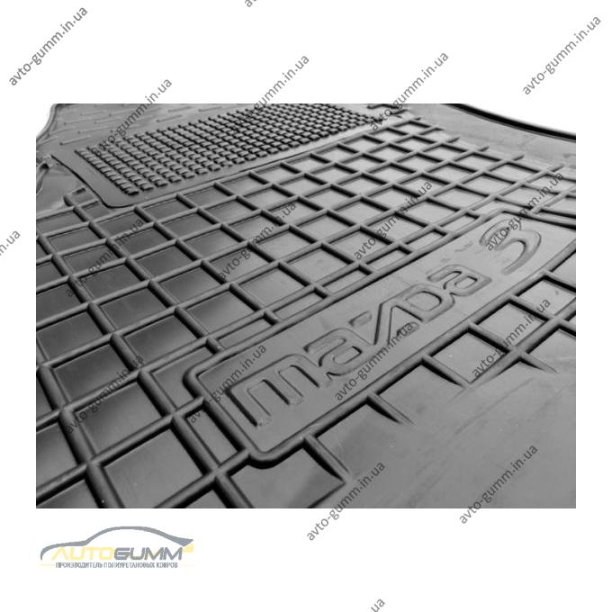 Водительский коврик в салон Mazda 3 2009-2013 (Avto-Gumm)