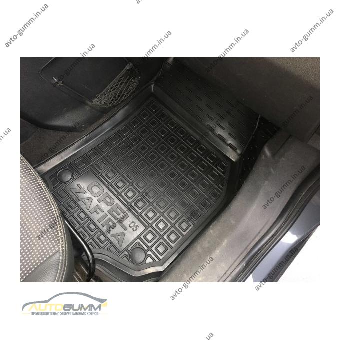 Передние коврики в автомобиль Opel Zafira B 2005- (Avto-Gumm)