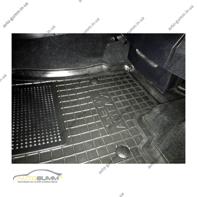 Водительский коврик в салон Seat Altea/Altea XL 2004- (Avto-Gumm)