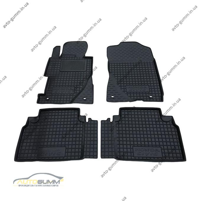 Автомобильные коврики в салон Honda Civic 4D Sedan 2006- (Avto-Gumm)