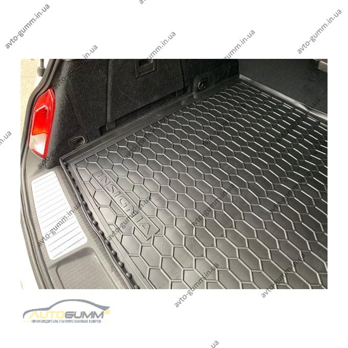 Автомобильный коврик в багажник Opel Insignia 2013- Universal (Avto-Gumm)