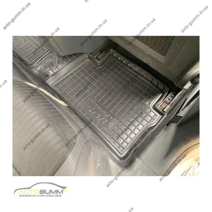 Автомобильные коврики в салон Peugeot 508 2011- (Avto-Gumm)