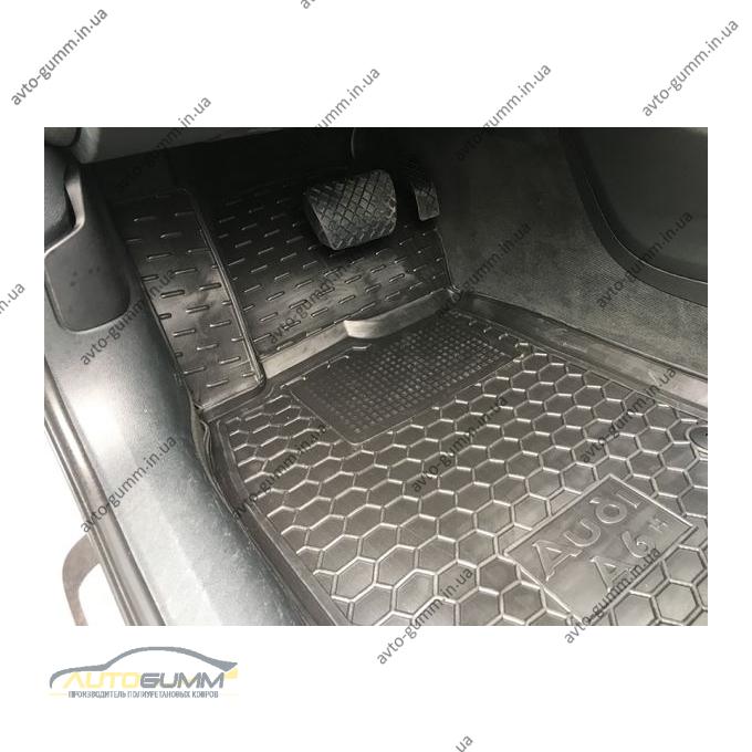 Водительский коврик в салон Audi A6 (C7) 2012- (Avto-Gumm)