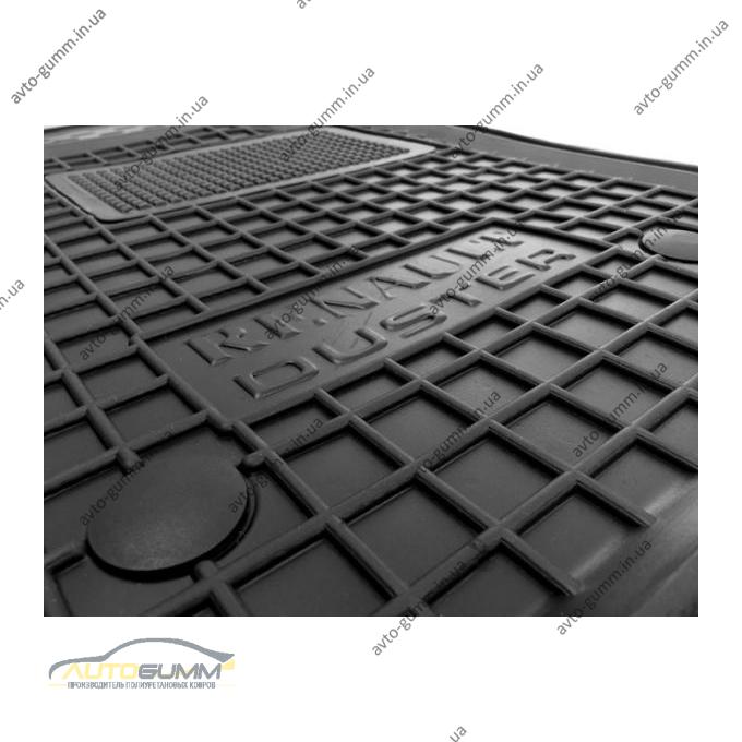 Автомобильные коврики в салон Renault Duster 2WD 2010-2014 (Avto-Gumm)